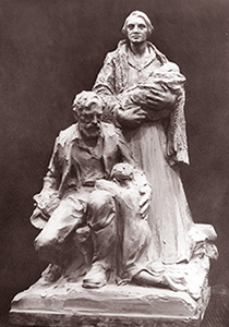 Family sculpture by Avard Fairbanks